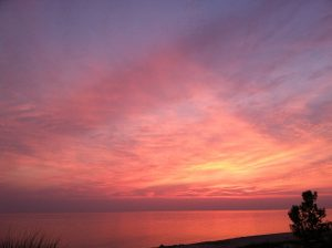 Lake Michigan Sunset, 7/2013