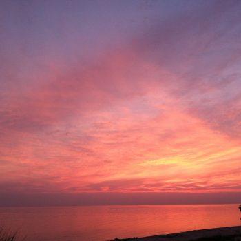 Lake Michigan Sunset, 7/2013
